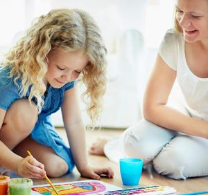 Kinderbetreuung - Spielen und Rituale