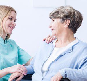 Altenpflege - Pflege des Patienten